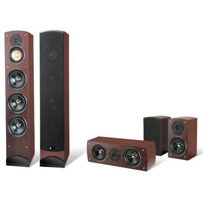Kit Home Theater Pure Acoustics-Próxima Mahogany