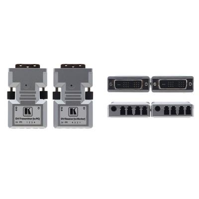 Transmissor e Receptor de DVI via Fibra Ótica Kramer 610R/T